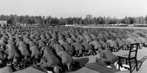 Membros muçulmanos 13 divisão Waffen-SS