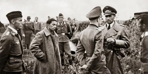 Yakov Dzhugashvili, filho de Stalin, capturado pelos alemães, 1941