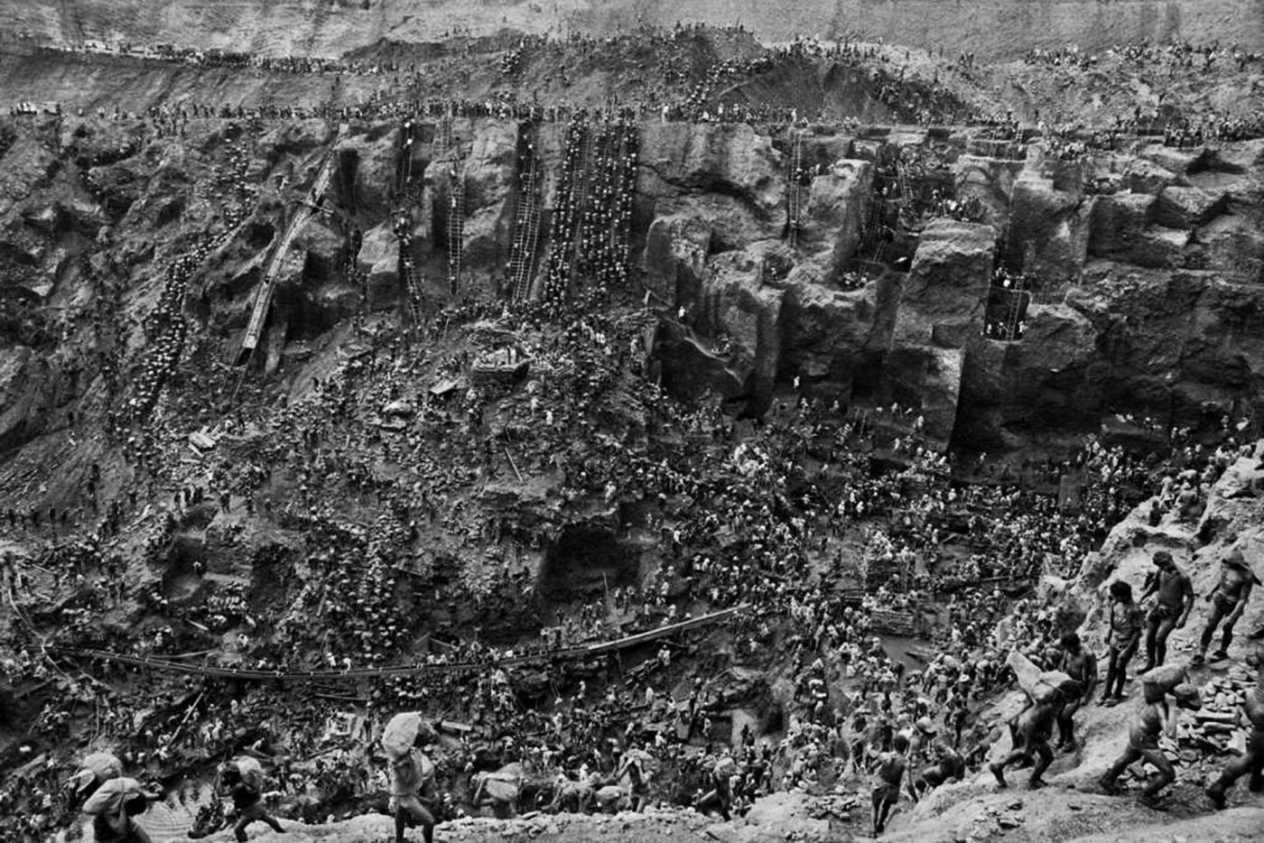 The hell of Sierra Pelada mines, 1980s 1